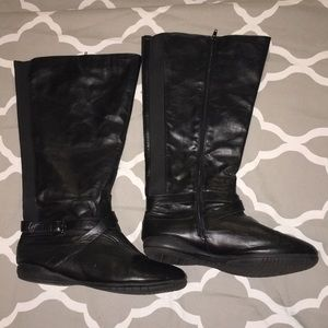 Shoes - Women's 12W Black Boots from Avenue (?)